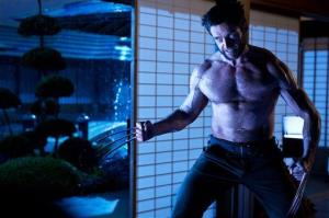 Hugh Jackman once again misplaces his shirt in 'The Wolverine.'