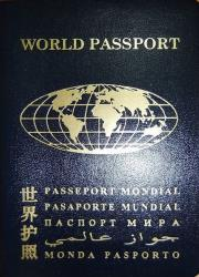 Davis' organization issued more than half a million World Passports.