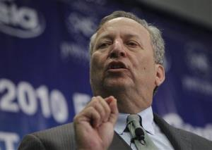 Larry Summers, the next Fed chief?