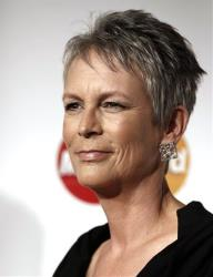 Jamie Lee Curtis arrives at the MusiCares Person of the Year gala honoring Barbra Streisand on Friday Feb. 11, 2011 in Los Angeles.