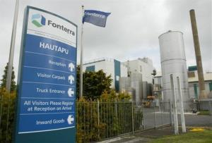 In this 2004 photo, Fonterra's Hautapu dairy factory is seen in the Waikato, New Zealand.