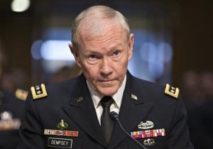 Gen. Martin Dempsey, chairman of the Joint Chiefs of Staff.