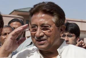 Former Pakistan leader Pervez Musharraf.