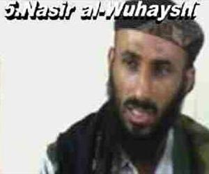A frame grab from video of Nasser al-Wuhayshi.