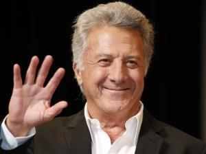 In this April 8, 2013 file photo, actor Dustin Hoffman waves to fans during the Japan Premiere of his film, Quartet,  in Tokyo.