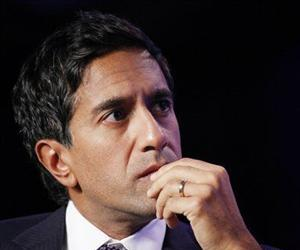 Dr. Sanjay Gupta, Chief Medical Correspondent for CNN, attends the Clinton Global Initiative, Sept. 22, 2010, in New York.