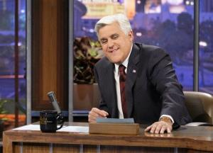 A file photo of Jay Leno at work.