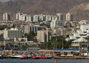 A file photo of the Red Sea resort city of Eilat, Israel.