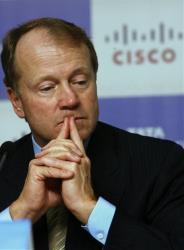 Cisco Systems Inc. Chief Executive John Chambers.
