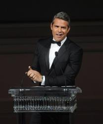 Andy Cohen speaks on stage at  the 2013 CFDA Fashion Awards at Alice Tully Hall on Monday, June 3, 2013 in New York.