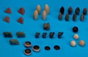 The newly discovered stones.