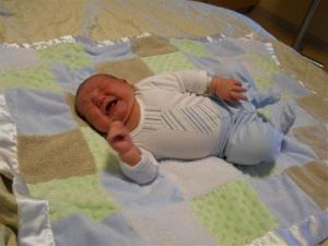 Asher Stewardson was born Jan. 26, 2012, weighing 13 pounds, 13 ounces.