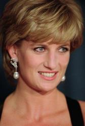 A 1995 photo of Princess Diana.