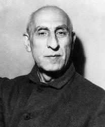 Mohammad Mossadeq.