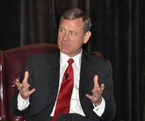 A file photo of Chief Justice John Roberts.