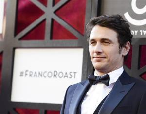 Actor James Franco arrives at the Comedy Central Roast of James Franco at The Culver Studios on Sunday, Aug. 25, 2013 in Culver City, Calif.