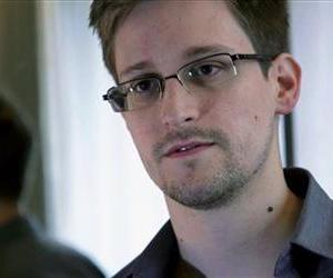 A file photo provided by the Guardian newspaper in London shows Edward Snowden.