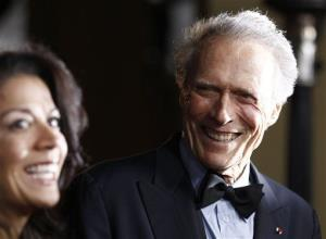 Clint and Dina Eastwood in 2011.
