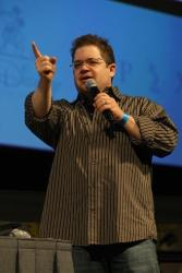 Patton Oswalt: He recently spent a day shamelessly trolling Twitter by tweeting admirable (or at least harmless) thoughts ... but splitting them up into two tweets so that the second one sounded awful, like so: For you simpletons who see everything in 'black' and 'white': if racism, misogyny, hatred and fear...