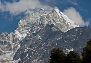 File photo of peaks in the Himalayas.