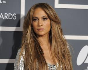 In this Sunday, Feb. 13, 2011 file photo, Jennifer Lopez arrives at the 53rd annual Grammy Awards in Los Angeles.