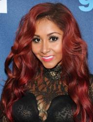 Television personality Nicole Snooki Polizzi attends the 24th Annual GLAAD Media Awards at the Marriott Marquis on Saturday March 16, 2013 in New York.