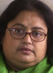 A file photo of author Sushmita Banerjee.