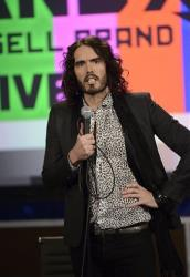 This March 21, 2013 photo released by FX shows Russell Brand, host of the FX series Brand X with Russell Brand.