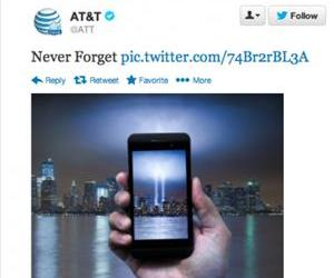 The offending tweet from AT&T.