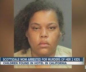 Marilyn Edge is accused of murder after her children were found dead in a CA hotel room.