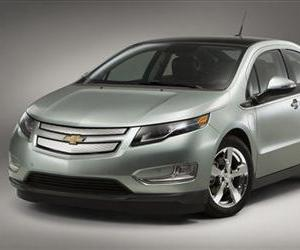 This product image provided by General Motors, shows a 2011 Chevrolet Volt.