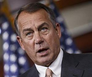 House Speaker John Boehner speaks during news conference on Capitol Hill, Sept. 12, 2013, after meeting with congressional leaders to discuss the budget.