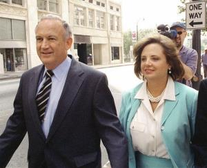 John and Patsy Ramsey on Aug. 28, 2000. Patsy died in 2006, and John has since remarried.