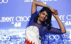 Musician M.I.A in a 2009 file photo.