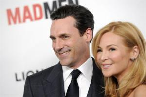 Jon Hamm and Jennifer Westfeldt: I'd be a terrible father! Hamm has said. I see my friends who have children and I'm like, 'Dude, how are you even upright, much less here at work at 6am?'