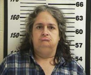 A police photo of Meloney Davis.