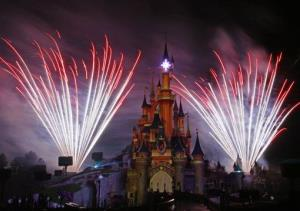 File photo from Disneyland's theme park in Marne-la-Vallee, east of Paris.