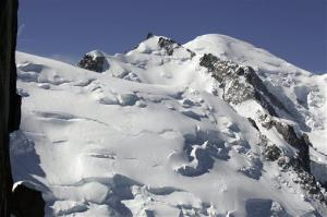 File photo of Mont Blanc in the French Alps.