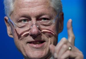 Former President Bill Clinton speaks at the Clinton Global Initiative, Tuesday, Sept. 24, 2013 in New York.
