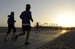 Jogging can be more effective, and a lot cheaper, than drugs for some patients, researchers say.