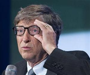 Bill Gates, co-founder of Microsoft, talks at the Clinton Global Initiative, Sept. 24, 2013 in New York.