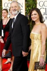 In this 2004 file photo, Bill Murray arrives with his wife, Jennifer Butler, for the 61st Annual Golden Globe Awards in Beverly Hills, Calif.