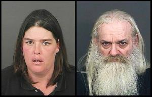 Lorinda Bailey and Wayne Sperling.