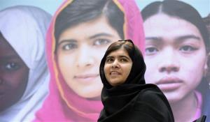 Malala Yousafzai, the 16-year-old girl from Pakistan who was shot in the head by the Taliban last October for advocating education for girls.