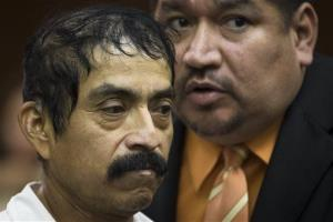 Conrado Juarez, 52, is arraigned in the murder of 4-year-old Anjelica Castillo, nicknamed Baby Hope, Saturday, Oct. 12, 2013, in New York.