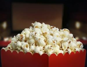 Popcorn prevents movie ads from taking hold on viewers, a study suggests.