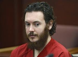 Aurora theater shooting suspect James Holmes in court in Centennial, Colo.