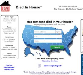 A screenshot from DiedInHouse.com