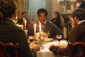 This image released by Fox Searchlight shows Chiwetel Ejofor in a scene from 12 Years A Slave.