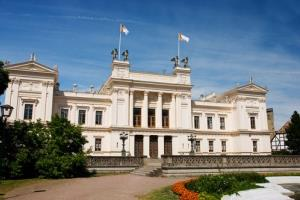 Lund University, home to the museum.